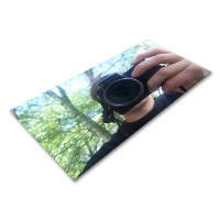 Polystyrene Sheet Mirrored 495 x 1000 x 1.0 mm