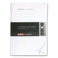 Refill for Herlitz Notebooks A6