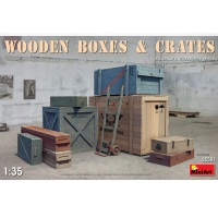 Wooden Boxes, Scale 1:35