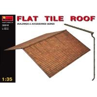 Dach im Maßstab 1:35