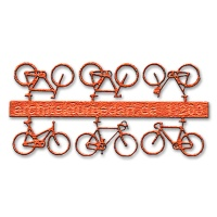 Bicycles, 1:200, orange
