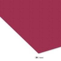 Tonzeichenpapier 70 x 100 cm, 25 cassis