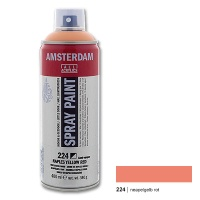 Amsterdam Spray Paint 224 naples yellow red