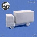 Truck, 1:100, white
