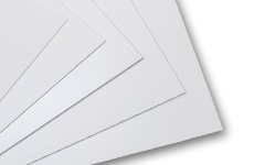 White Serigraphy Boards