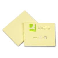 Haftnotizen gelb 100 x 75 mm