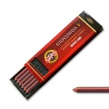 Koh-I-Noor 6 Chalk Leads sepia red brown