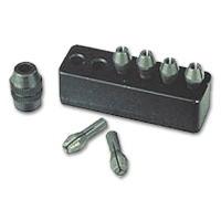 MICROMOT Collets, 6 pcs. with Collet Nut and Holder