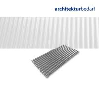 Aluminiumwellblech, 3 mm Welle