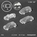 Cars 1:100, transparent