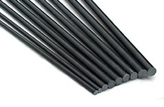 Carbon Round Rods