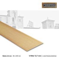 Linde Strukturbrettchen V-Rille 12,7 mm Raster